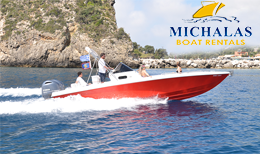 Luxury boat tours in Corfu - Michalas Marine