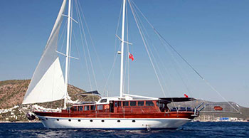Gulet charters in Corfu and the Ionian Islands.